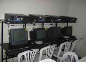 Cyber cafe solicito empleada