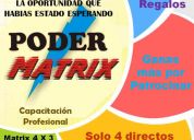 Poder matrix, un negocio por internet