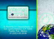 Solicito personal para atender internet en el centro historico puebla