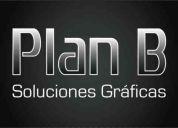Plan b solicita diseñadores