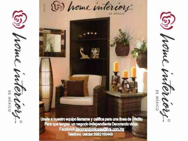 trabaja vendiendo articulos de decoracion home interiors