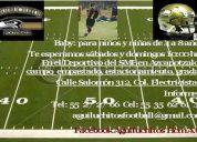 Escuela de football americano aguiluchitos hcm a.c.