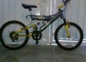 2 bicicletas una r.20 y otra r.15 rmato