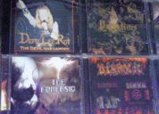 Vendo discos originales de heavy, death, black, etc.
