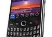 Blackberry curve 3g 9300 plata/negra – nueva en empaque con sello – telcel