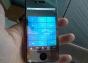 Vendo iphone 4  32 gb(desbloqueado con gevey)