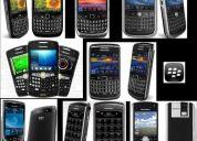 Blackberry (desbloqueos, reparaciones,carcazas, accesorios originales)