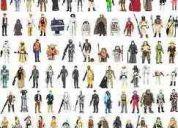 Se venden juguetes de star wars