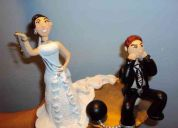 Muñecos para pastel de bodas personalizados