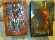 Hot toys iron man mark vi armadura de batalla nuevo