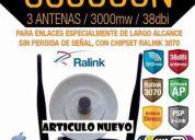 Adaptador de red kasens 660000n 3000mw 38dbi...(nuevo) a solo 650 pesos !!!!!!!!