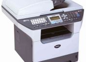 Multifuncional brother dcp 8065dn, 32 ppm, red, duplex