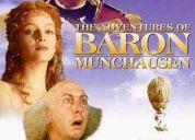 Las aventuras del barón munchausen dvd original