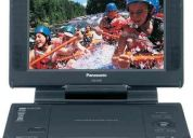 Panasonic dvd-ls855 portable