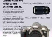 Camara nikon reflex n75 oferta