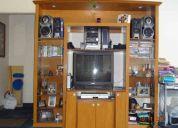 Vendo mueble para sala y tele