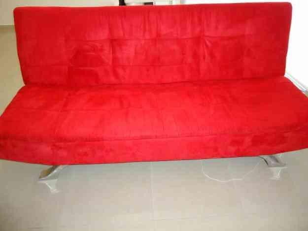 Vendo futon rojo benito ju rez hogar jardin muebles for Vendo muebles jardin