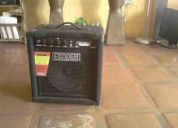 Remato amplificador fender rumble 15+ pedalera digitech bp80