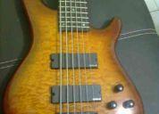 Bass electrico 6 cuerdas