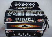acordeon gabbanelli dos tonos fa - mi