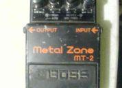 Metal zone (efecto para guitarra)
