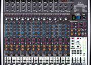 consola nuevecita behringer xenyx x2442usb 16 canales