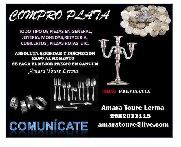COMPRA Y VENTA DE PLATA 11.0 EL GRAMO MEJOR PRECIO N CANCUN - Benito ...