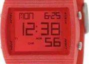 Fossil dq1195 reloj unisex digital rojo moda $ envio gratis
