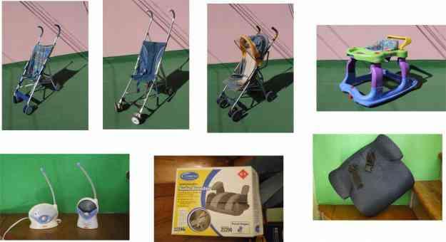 carreolas y varios articulos de bebe