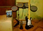 Paquete rock band para x box 360
