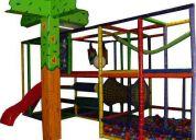 Laberintos tubulares infantiles para concecionarias y areas de fast food