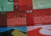 Vendo cutting edge libro de ingles