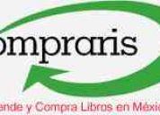 Vende y compra libros usados por internet