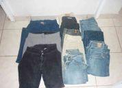 Vendo lote de pantalones para dama (usados)
