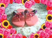 Vendo sandalias decoradas