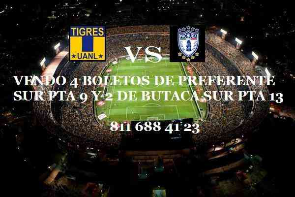 Boleots tigres vs pachuca 4 preferentes surpta 9 y 2 for Puerta 9 estadio universitario