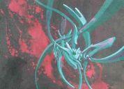 Obra original cuadros acrilicos sobre madre carton
