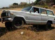 Vendo wagoneer 4x4 84 para detallar o piezas urge!!