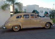 Se vende auto clasico plymouth 1947 $ 110 mil pesos