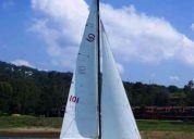 velero santana 20. de regata