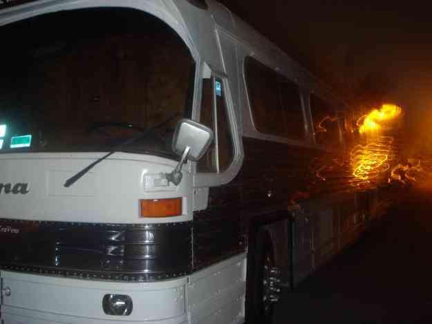 autobus para grupo musical