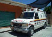 Venta de ambulancia deurgencias medicas