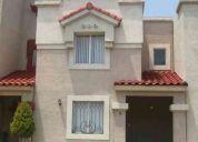 Bonita casa de 2 niv, 3 rec., 1.5 baÑos, pisos de ceramica, en privada