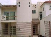 Casa en renta en colonia región 500, cancún, quintana roo. $10,000.00 mxn