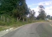 Preciosa parcela a orilla de carretera,4 hectareas
