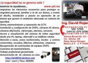 Instalación de dvr y cámaras de vigilancia via internet .
