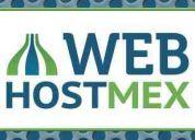 Hospedaje web hosting en méxico económico $160 al año - webhostmex