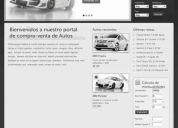 Páginas web para agencias y lotes de autos