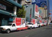 Ofrecemos soluciones y apoyo con personal y equipo en b.c. publicidad y promociones.