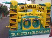 Renta de inflables